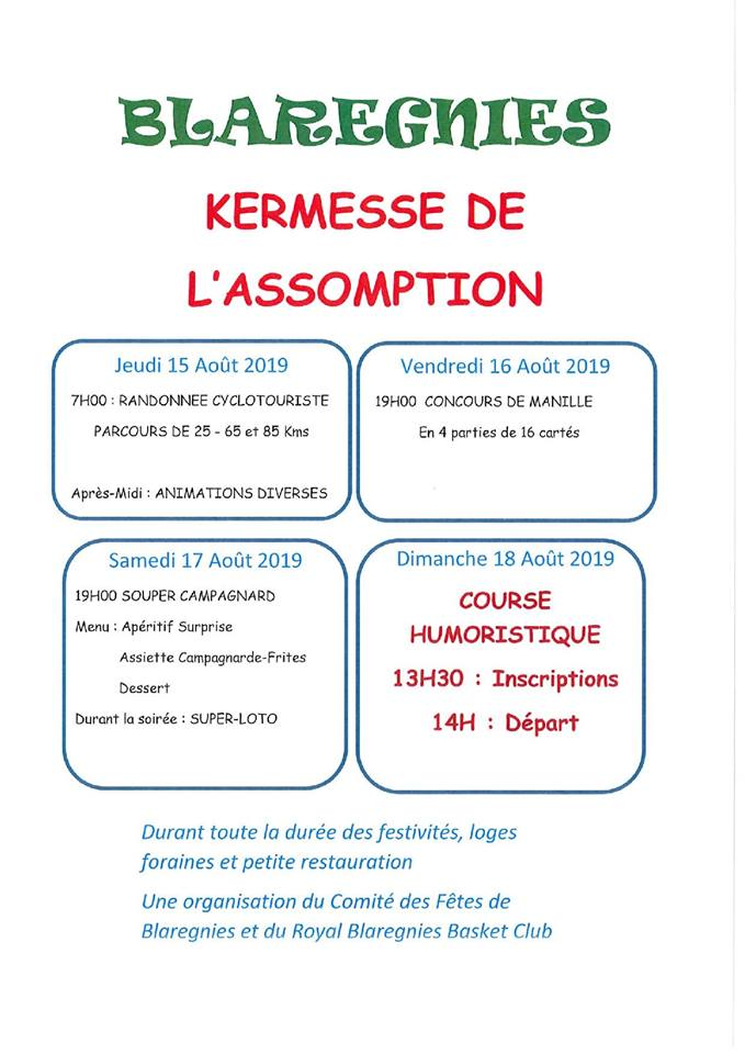 blaregnies 15 aout 2019