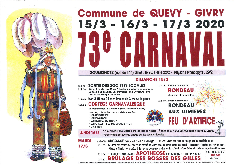 carnaval de givry 2020